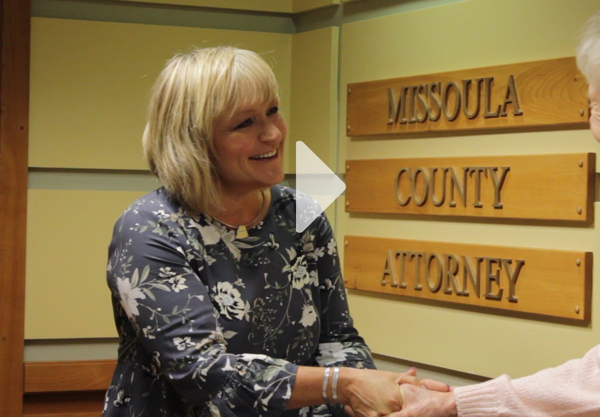 Missoula County Attorney Receives Positive Report Card from Justice Department
